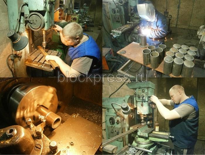 продажа станков для производства шлакоблоков